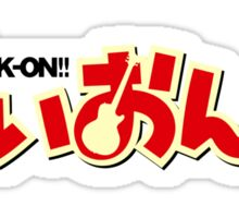 K-ON!! Sticker