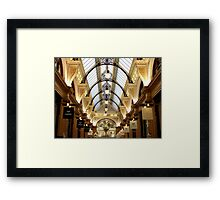 $$$ retail  therapy Framed Print