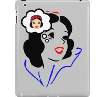 Snow White fairy tale quotes iPad Case/Skin
