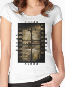 Urban T-shirt Women's Fitted Scoop T-Shirt
