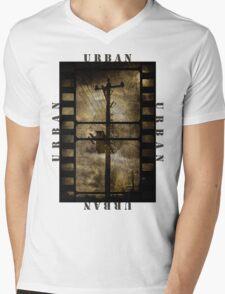 Urban T-shirt Mens V-Neck T-Shirt
