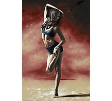 Sultry Dancer Photographic Print