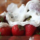 Strawberries and Cream by FeeBeeDee