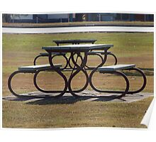 Picnic Table  Poster