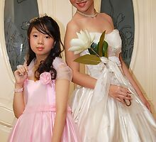 bride and flower girl gown design 8 by walterericsy