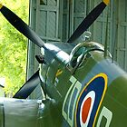 Spitfire Mk IX MH434 - Hanger 2 Duxford by Colin J Williams Photography