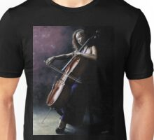 Emotional Cellist Unisex T-Shirt