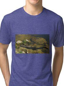 Gator n FLower Tri-blend T-Shirt