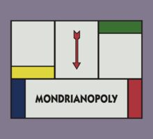 Mondrianopoly by bryanhibleart