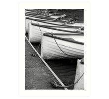 Row of Boats - Versailles Art Print
