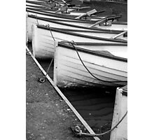 Row of Boats - Versailles Photographic Print