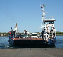 The Portaferry- Strangford Ferry by ilass