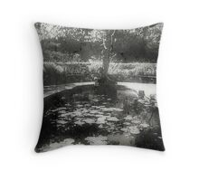 I am here alone, thinking of you. Throw Pillow