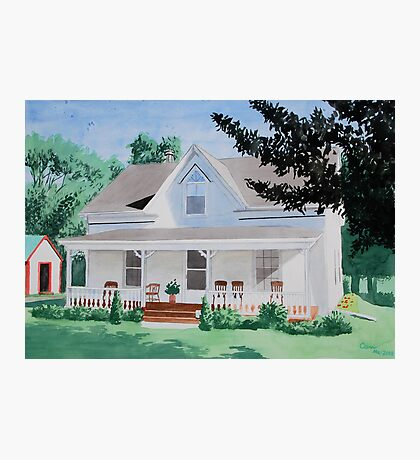 Country House Photographic Print