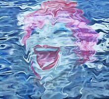 Water's  Laughter by Darlene Virgin