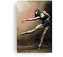 With Strength and Grace Canvas Print