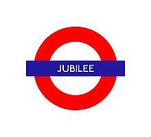 Jubilee Metro Station Photographic Print
