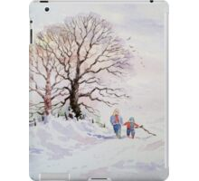 GOING HOME FOR CHRISTMAS iPad Case/Skin