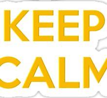 KEEP CALM BANANAS Sticker
