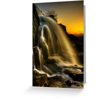 Sunset Spray Greeting Card