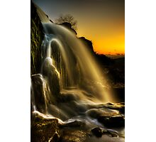 Sunset Spray Photographic Print
