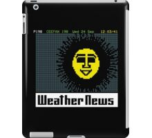 Pages From Ceefax - Weather News iPad Case/Skin
