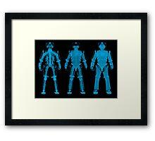 X-ray Cybermen Framed Print