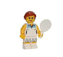 LEGO Tennis Player by jenni460