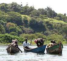 Fisherman on the Nile by JennieHeigh