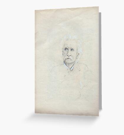 Grieg's Portrait Greeting Card