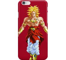 Broly Super Saiyan iPhone Case/Skin