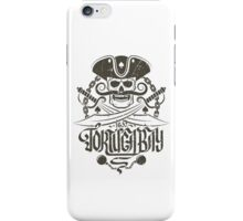 Pirate logo with skull iPhone Case/Skin