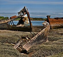 Boat Cemetery by Tarrby