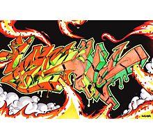 Abstract Graffiti Art Photographic Print