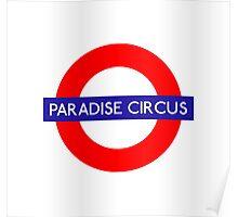 Paradise Circus Metro Station Poster