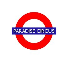 Paradise Circus Metro Station Photographic Print