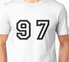 Number Ninety Seven Unisex T-Shirt