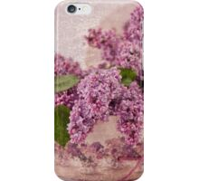 Lilacs In The Box iPhone Case/Skin