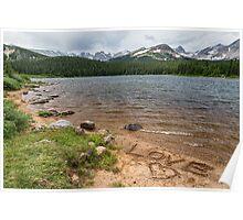 Love the Colorado Rocky Mountains Poster