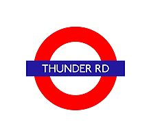 Thunder Road Metro Station Photographic Print