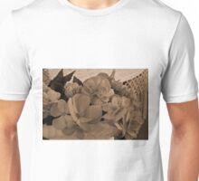 Begonias Sepia Love Unisex T-Shirt