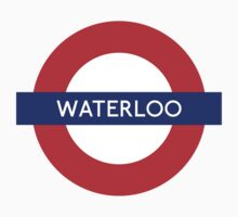 Waterloo Underground Station Logo Kids Clothes