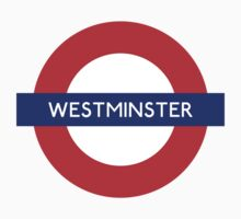 Westminster Metro Station London Underground by vintage-shirts