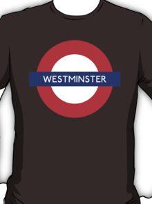 Westminster Metro Station London Underground T-Shirt