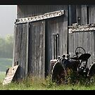 REDREAMING MENNONITE TRACTOR. by REDREAMER