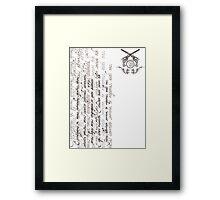 Exorcizamus te... Framed Print
