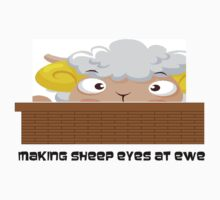 Sheep eyes by Bagpus