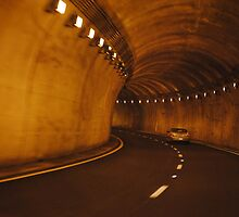 Tunnel effect - Tenn. Mtns by Krystal McKenzie