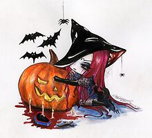 Halloween: Wicked Witch by AscendeadMaster