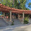 Sun and Shadow at Amici Park, San Diego, CA by Gerda Grice
